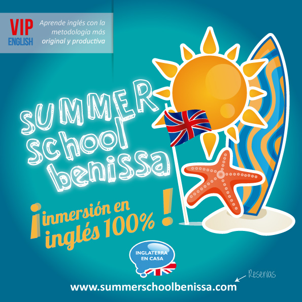 Folleto summer school verano